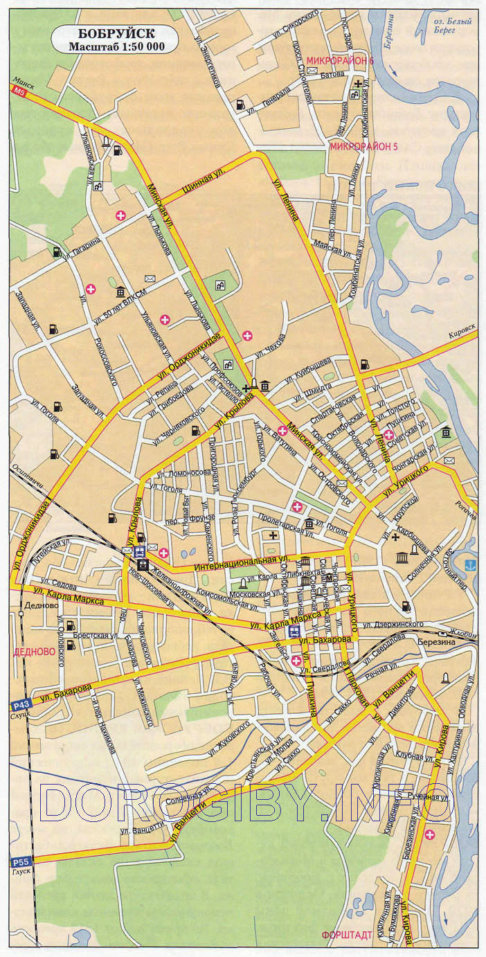 bobruisk district interactive map of bobruisk district map of bobruisk ...