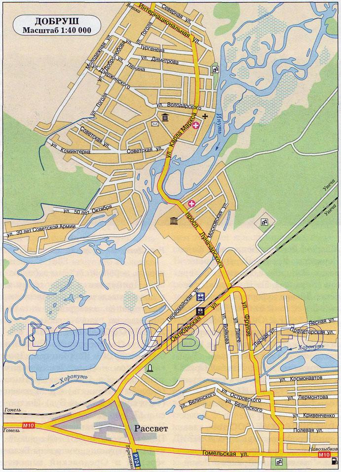 Карта Добруша