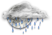 Прогноз погоды Пинска: облачно, дождь
