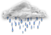 Прогноз погоды Рогачёва: пасмурно, дождь