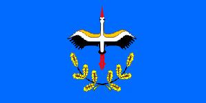 Флаг Лельчиц и Лельчицкого района