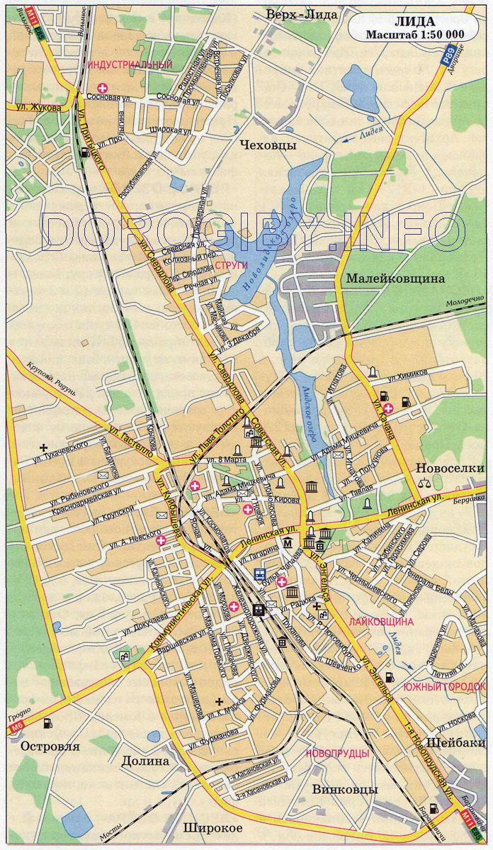 Карта Лиды