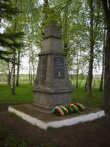 Обелиск в память о погибших в годы ВОВ, 1969 г. д. Дворное Село.