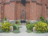 Памятник нерожденному ребенку около Успенского костела в г. Миоры