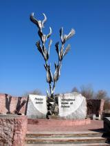 памятник афганцам