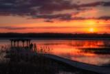 Пирс на озере Россоно