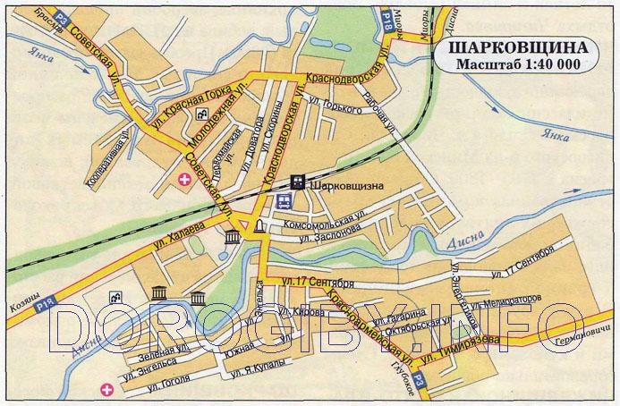 Карта Шарковщины