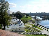 Вид на Кировский мост. г. Витебск